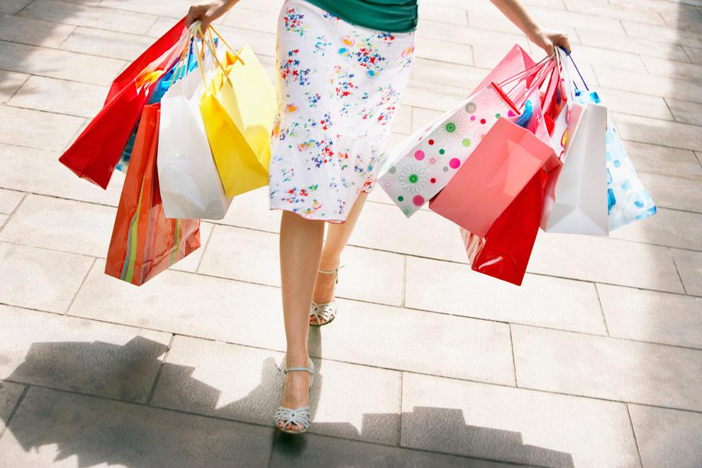 Plimbă-te în fiecare zi prin magazine