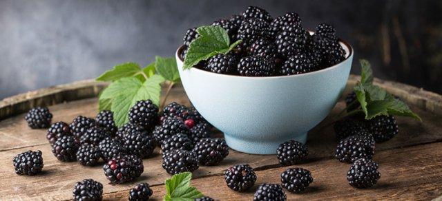 Fructele verii- murele