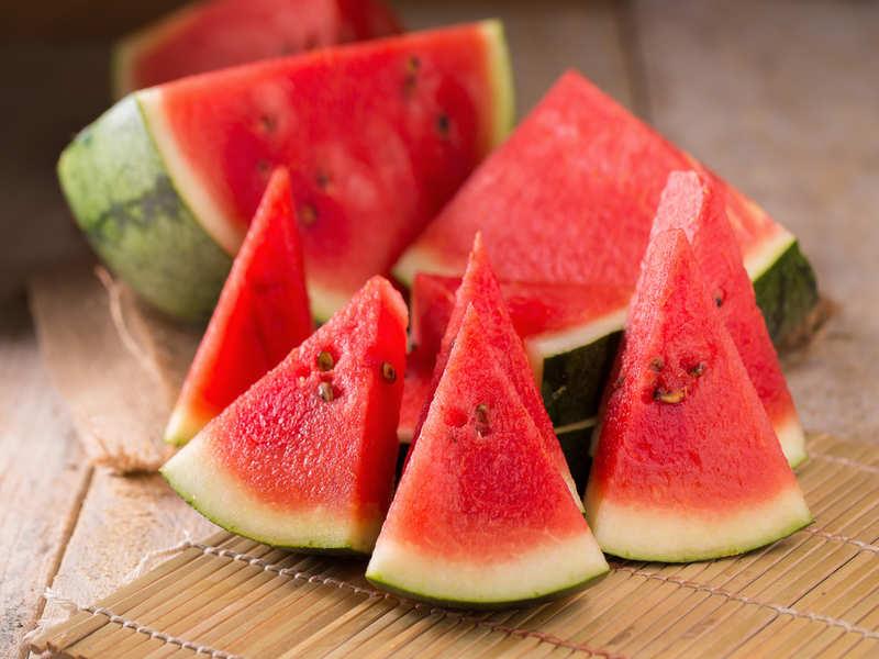Fructele verii- pepenele rosu