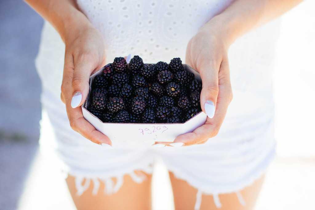 mure - fructe care te ajuta sa-ti mentii silueta